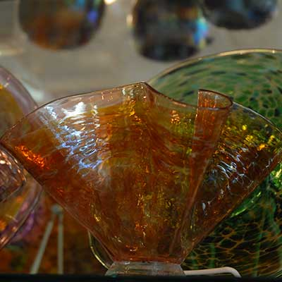 American made handcrafted glass